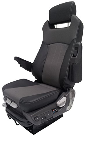 Prime Seating 600L Air Vent / Heated Leather Truck Seat Adjustable