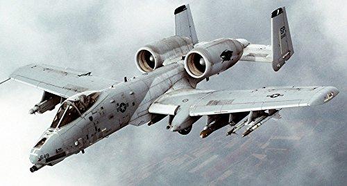 Home Comforts Military USA Plane Aircraft Thunderbolt Jet A-10 Laminated Poster Print 24 x 36