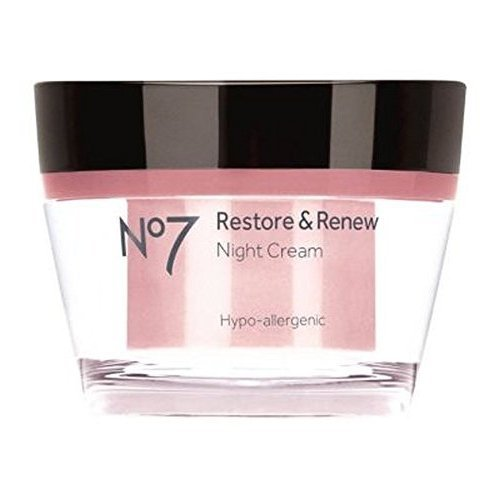 (No7 Restore & Renew Night Cream 50Ml)