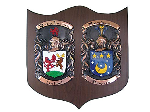 - Copper Knight Double Family Crest