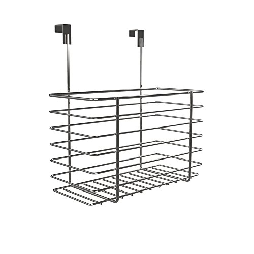 Hanging Vanity Bathroom (Over The Cabinet Kitchen Storage Organizer- Hanging Basket Shelf for Kitchen and Bathroom Organization by Classic Cuisine  (Chrome))