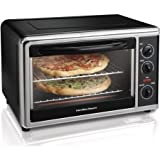 Hamilton Beach Large Capacity Counter Top Oven, Chrome For Sale