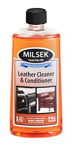 Milsek Leather Cleaner Conditioner 12 Ounce