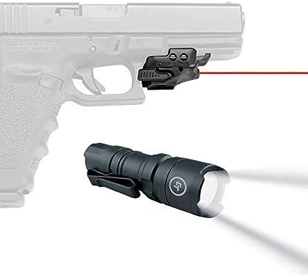 CMR-201 Crimson Trace Rail Master Universal Red Laser Sight for Pistol Rail