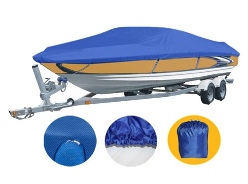 Brightent-Boat covers Waterproof Trailer Covers (Fit Boat Length 20'-22' XBT3N)