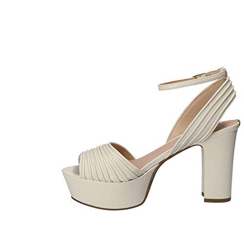 Plateforme Ecru Sandal à Dress Noir Escarpins Guess Footwear Femme TwOqBp