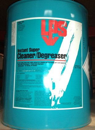 LPS 00705 Instant Super Degreaser, Clear by LPS