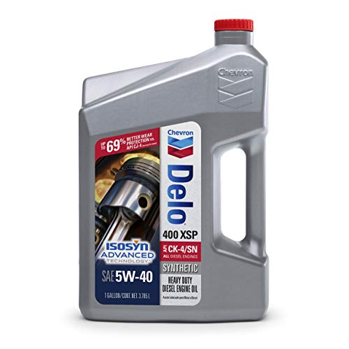Delo 39146 400 XSP SAE 5W-40 Synthetic Motor Oil - 1 Gallon Jug