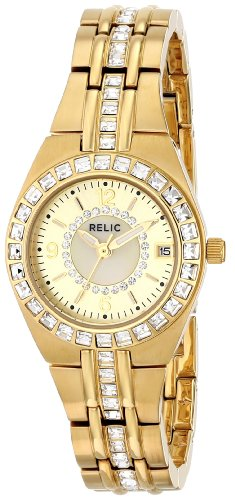 Relic by Fossil Women's ZR11778 Analog Display Analog Quartz Gold Watch