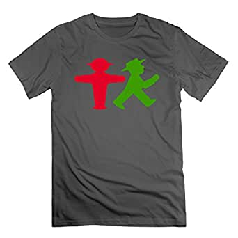 Ampelmann From Berlin Men Casual T Shirt 100 Cotton Teeshirt Graphic T Shirts