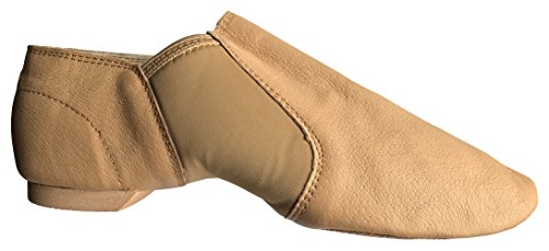 Danz On Soft Adult Tan Assured Quality Child amp; Shoes Leather Plus Jazz Slip rOEqFwr