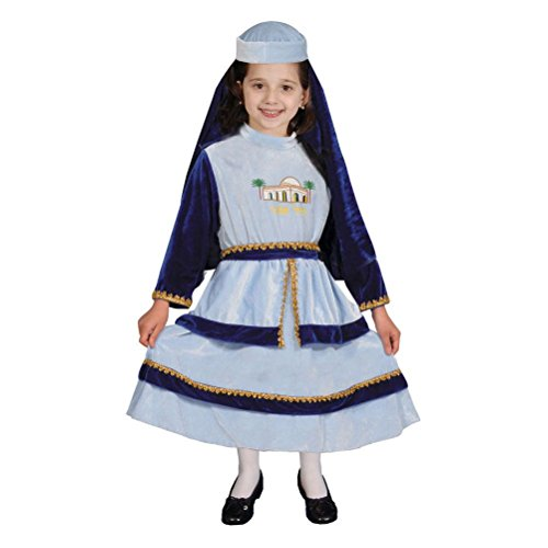 [Girl's Cute Jewish Mother Costume Set] (Jewish Mother Rachel Costume)