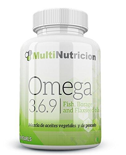 Omega 3.6.9 mezcla de aceites vegetales y de pescado con vitamina E. 180