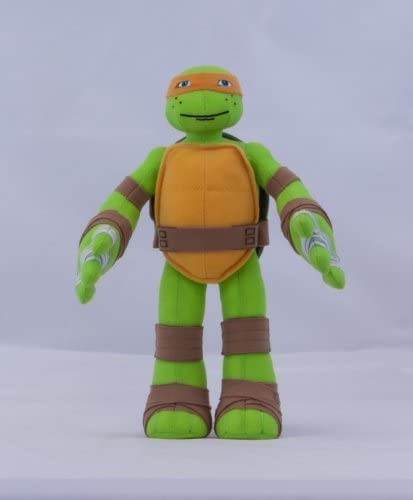 Amazon.com: Teenage Mutant Ninja Turtles Plush-Mikey: Toys ...