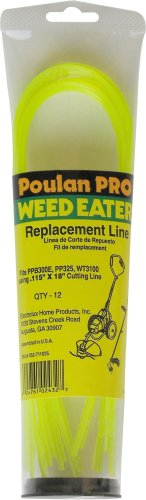 Poulan Pro 952711635 String Trimmer Line for WT3100 and PP325 .115-Inch -