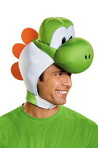 Disguise Men's Yoshi Costume Accessory Headpiece - Adult, Green, One Size -