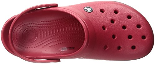 Adulte Sabots Band pepper Rouge Clog Mixte Crocs gARnFWza