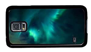 Hipster girly Samsung S5 Case aurora borealis PC Black for Samsung S5 by ruishername