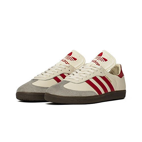 Samba 8 42⅔ Classic Red White 5 Beige Farbe Creme OG Größe Adidas pd7q0p