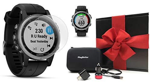 ساعت مچی هوشمند گارمین مدل Fenix 5S Plus بهمراه بسته هدیه