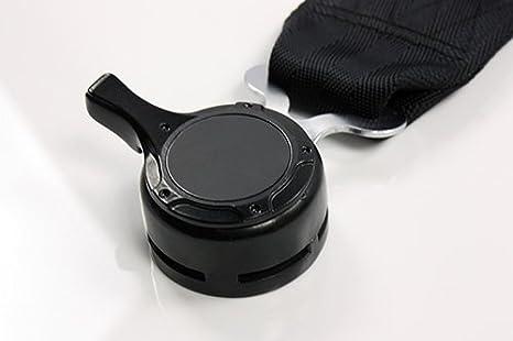 Modifystreet 2PC Black 4 Point Camlock 3 Heavy Duty Snap On Nylon Strap Quick Release Racing Seat Belts Harness
