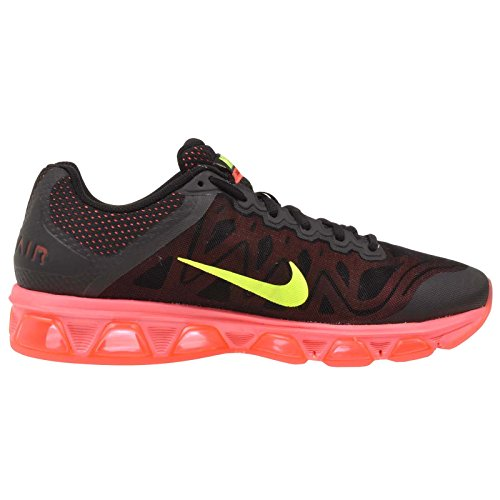 Nike Air Max Vento In Coda 7 Pattini Correnti Del Mens Nero / Volt-hot Lava Lava Glow