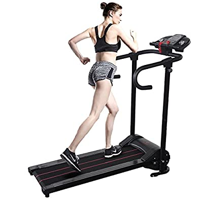 Gracelove Electric Folding Motorized Cardio Training Treadmill Portable Running Gym Fitness Machine