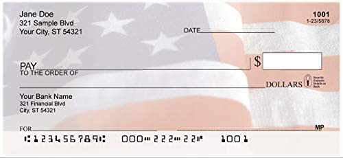 American Pride Top Tear Personal Checks