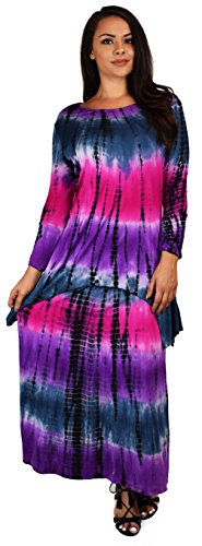 plus size tie dye maxi skirt - 9