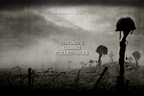 Call of Duty CGC Huge Poster Glossy Finish World at War COD PS3 PS4 Xbox 360 One - COD014 (16
