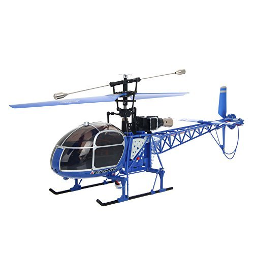 WLtoys V915 4CH 2.4G RC Helicopter with Gyroscope ERT Mode2 Blue