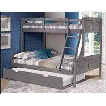 Amazon Com Donco Kids 2012 Tfag 503 Ag Louver Bunk Bed Withtrundle