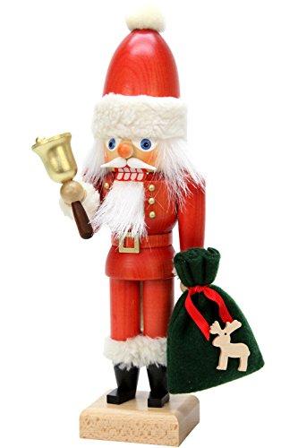Alexander Taron Importer 32-658 - Christian Ulbricht Nutcracker - Santa with Bell - 12'''' H x 4'''' W x 3'''' D by Alexander Taron Importer