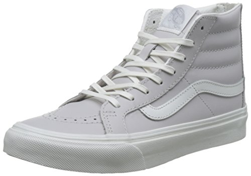 Vans Unisex Sk8-Hi Slim Women's Skate Shoe Wind Chime / Blanc De Blance buy cheap fashionable cheap sale for cheap discount in China outlet looking for J1VeFI0