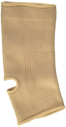 Curad Elastic Pull-Over Ankle Support with Open Heel, X-Large