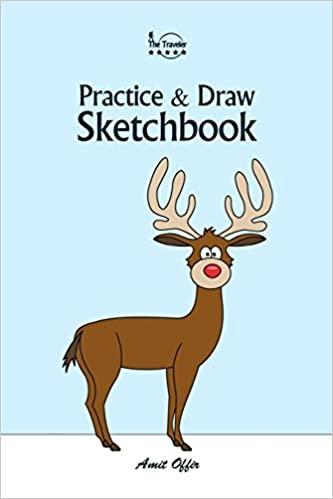Practice And Draw Sketchbook Christmas Learn To Draw Christmas