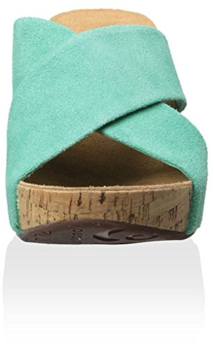 Women's Cork Chocolat Teal Mackenzie Blu Sandal 5vZwqRt