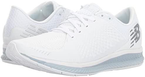 31a3e6db7e1 New Balance Women's FuelCell Running-Shoes, White/Grey, 6.5 D US ...
