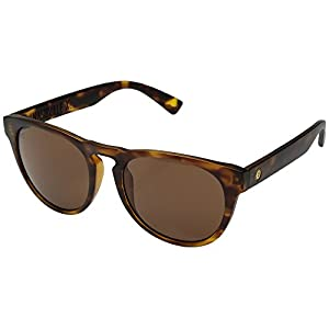 Electric Nashville XL Sunglasses Matte Tortoise with Ohm Bronze Lens