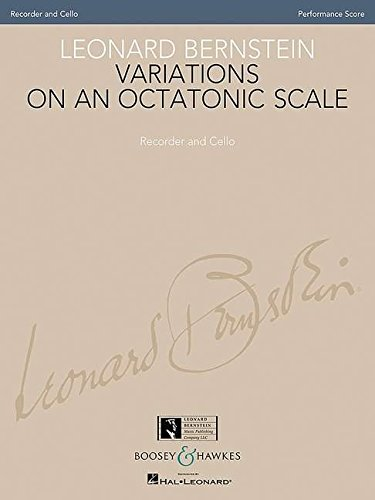 Variations on an Octatonic Scale: Recorder and Cello (Original Version) Performance Score