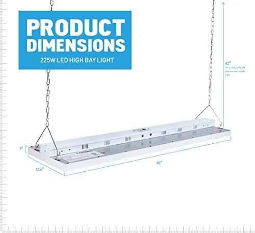 Parmida LED Linear High Bay Shop Light Fixture
