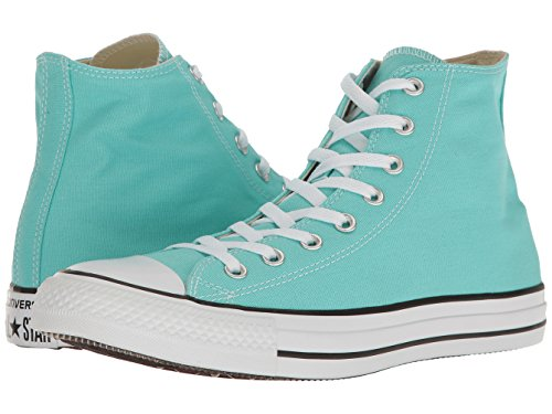 Top Blue High (Converse Unisex Chuck Taylor All Star Seasonal High Top Shoe Light Aqua Men's Size 5/Women's Size 7)
