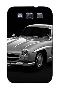 Honeyhoney High Quality 1954 Mercedes Benz 300sl W198 300 Tetro Supercar Supercars Gullwing Case For Galaxy S3 / Perfect Case For Lovers
