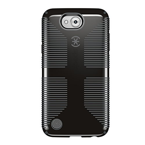 Click to buy Speck Products CandyShell Grip Case for LG X Power 2 (LG Fiesta LTE, LG X Charge) Smartphone - Black/Slate Gray - From only $26.52
