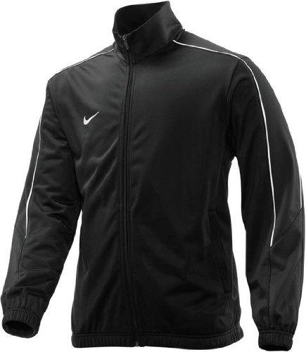 Nike TEAM POLY KNIT WARM UP JACKE Trainingsjacke kombinierbar mit Poly Trainingshose, Farben:schwarz, Größe:XL