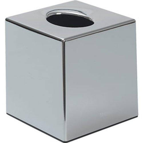 Chrome Cube Tissue Holder Tissue Holders–120x 130cm Stalwart CC493