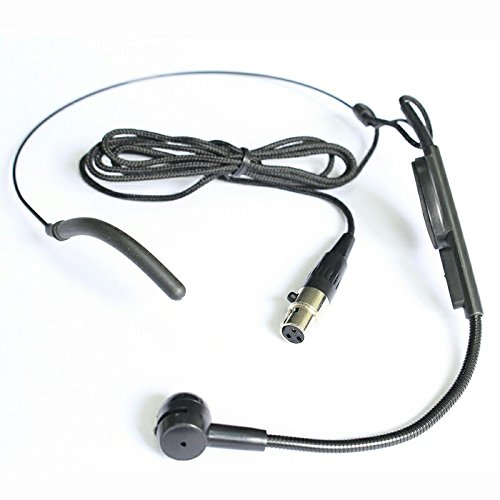 TP-WIRELESS Microphone (Top Quality Cardioid Condenser Headworn Headset Mi)