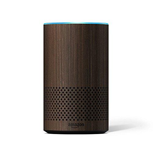 Echo Decorative Shell (fits Echo 2nd Generation only) - Walnut -