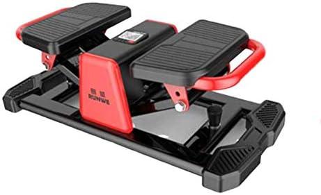 家庭用サイレントツイストフィットネス機器、カーディオフィットネスステッパー、ステッパーエクササイズ機器、軽量ペダル、エクササイズマシンA 68x34x25cm