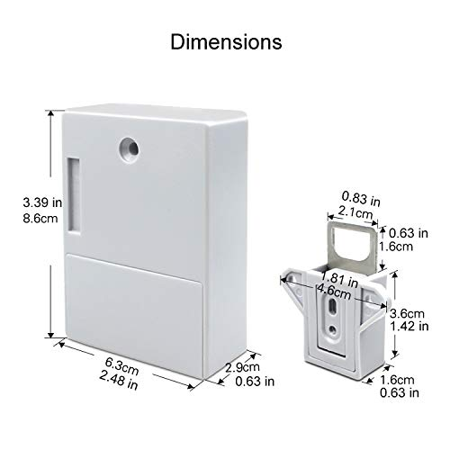 ETEKJOY RFID Electronic Cabinet Lock Hidden DIY for Wooden Drawer Cabinet by ETEKJOY (Image #3)